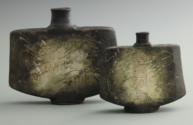 Envelopes, stoneware