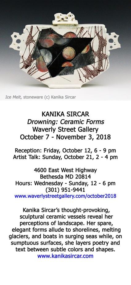 KanikaSircar Invitation WaverlyStreetGallery October 2018